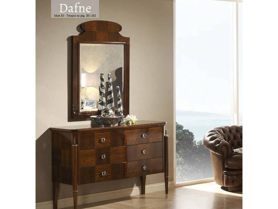 Lino: Dafne: зеркало  (грецкий орех 83)
