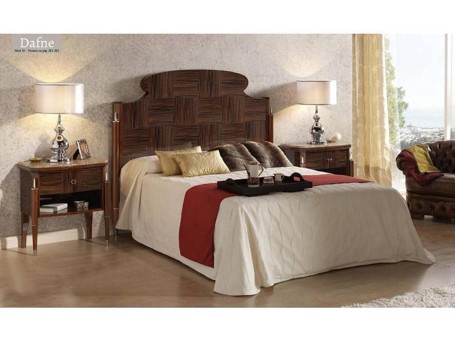 Lino: Dafne: кровать 180  (эбеновое дерево)