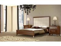 Lino: Helios: кровать 150х200  (орех)