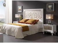 Lino: Helios: спальная комната (белый блестящий, посеребренный)