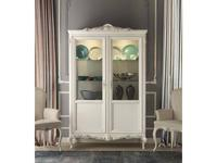 Stella Del Mobile: Le Rose: витрина 2-х дверная  (blanco)