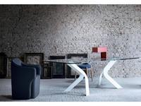 Miniforms: Bipede: стол обеденный  (белый)