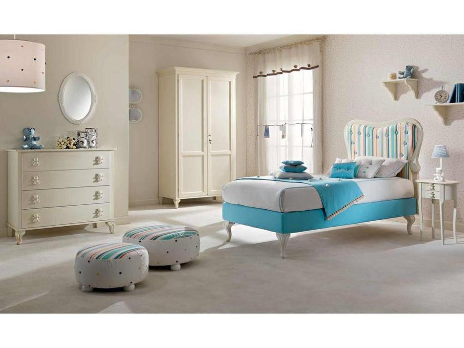 Piermaria: Suit: детская комната (белый, ткань)