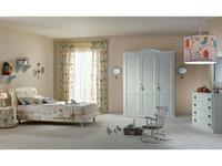Piermaria: Victor: детская комната (белый, ткань)