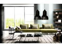 Formerin: Mastroianni: диван 3-х местный с коротким шезлонгом (ткань)