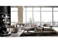 Formerin: Fellini: диван многоместный (ткань)