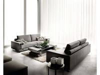 Formerin: Visconti: диван 3-х местный (ткань)