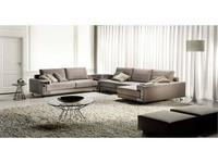 Formerin: Visconti: диван угловой (ткань)