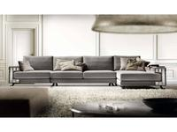 Formerin: Visconti: диван угловой с шезлонгом (ткань)