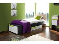 Szynaka: IKAR: кровать 90х200  (bicolore)