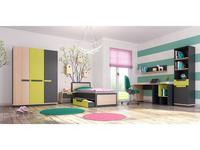 5226593 детская комната современный стиль Szynaka: Wow