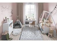 Szynaka: Picolo: детская комната  (белый, серый)