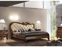 Vaccari: Las Vegas: кровать Desire 180х200 (орех)