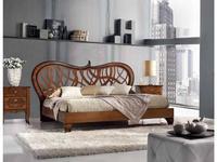 Vaccari: Las Vegas: кровать   180х200 Elegant (орех)