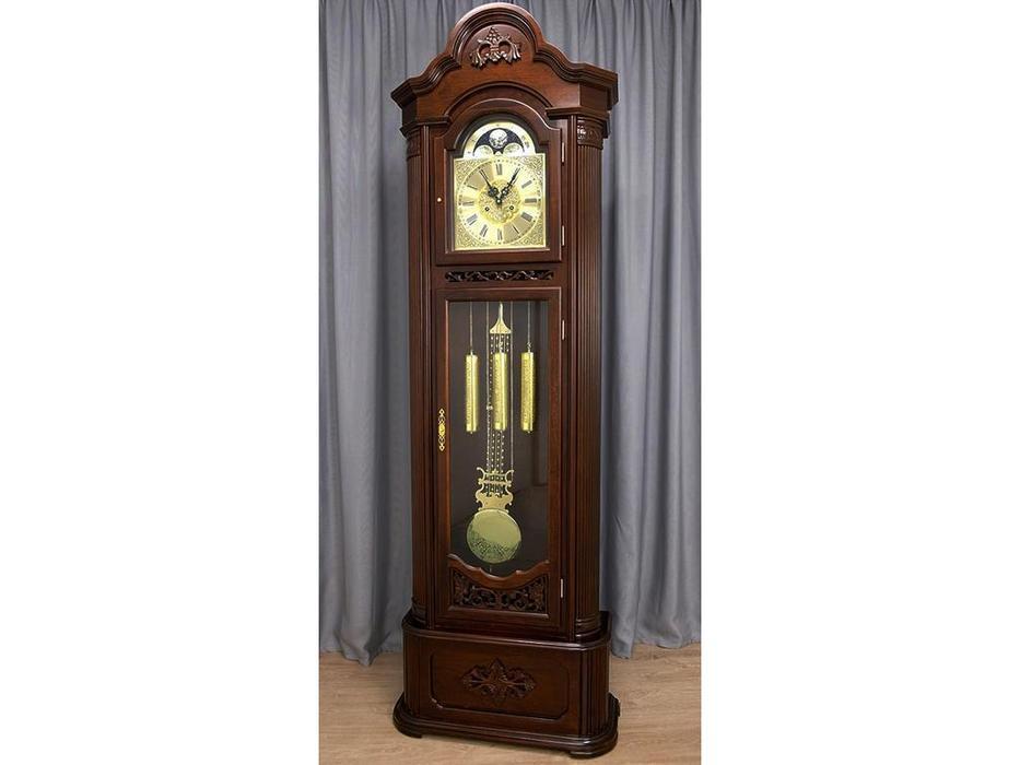 Columbus: Мудрость веков: часы напольные  (орех темный)