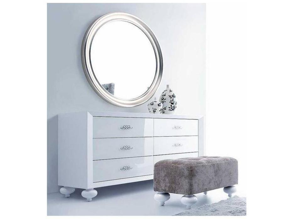 Fratelli Barri: Palermo: зеркало  (сусальное серебро)
