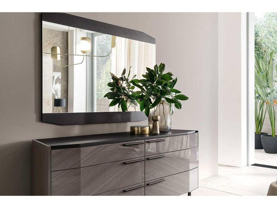 ALF: Olimpia: зеркало навесное  (махагон)