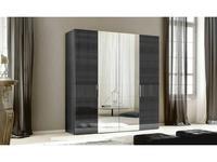 ALF: Montecarlo: Шкаф 4-х дверный  (grey)