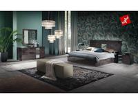 ALF: Heritage: спальная комната (dark velvet birch high gloss)