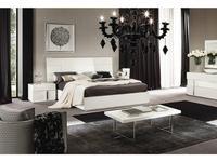 ALF: Canova: кровать 180х200  (bianco lucido)