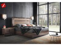 ALF: Matera: кровать 180,5х200,5  (surfaced oak)
