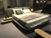 ALF: Neyo: кровать двуспальная 160х200 в ткани (серый)