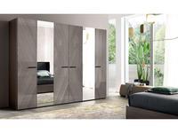 ALF: Olimpia: шкаф 6 дверный  с зеркалами (эвкалипт)