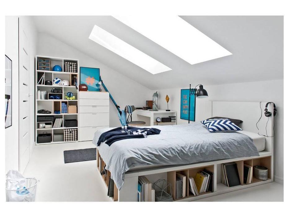 Vox: 4YOU: кровать 160х200  (белый)