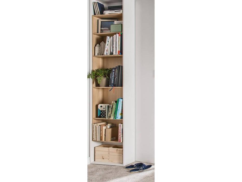 Vox: 4YOU: шкаф книжный приставной H.240  (белый, дуб)