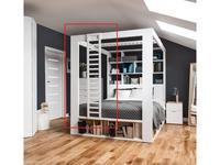 Vox: 4YOU: лестница для кровати боковая  (белый)