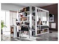 Vox: 4YOU: шкаф книжный двухсторонний  (белый)