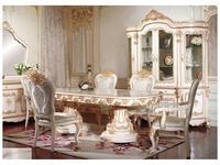 AV: Layma: стол обеденный  (слоновая кость, золото)