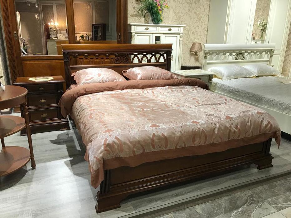 Saoncella: Puccini: кровать 180х200  без изножья (вишня)