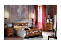 Saoncella: Puccini: кровать 160х200  (вишня)