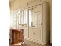Saoncella: Puccini: шкаф-купе  2-х дверный (вишня)