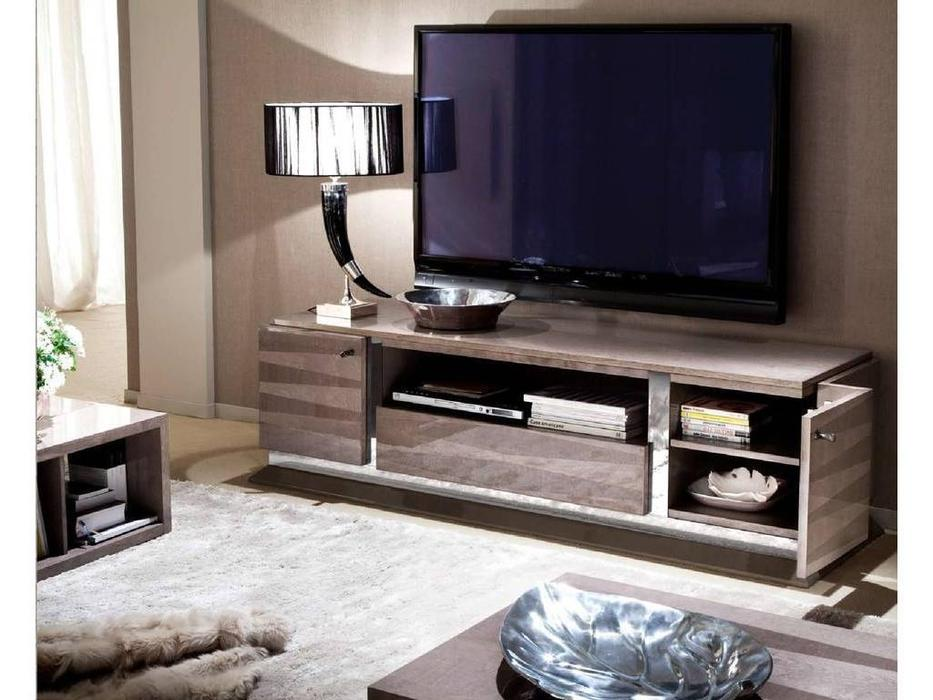 ALF: Monaco: тумба под телевизор  (шпон канадской березы, лак)