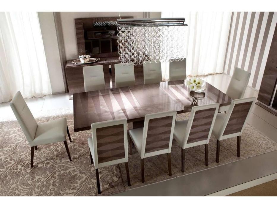 ALF: Monaco: стол прямоугольный  (шпон канадской березы, лак)