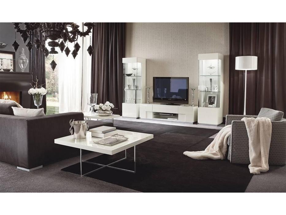ALF: Canova: стенка в гостиную (bianco lucido)