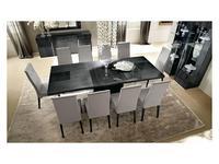 ALF: Montecarlo: стол обеденный раскладной  (серый)