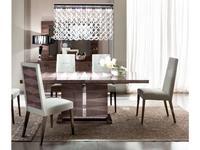 ALF: Monaco: стол обеденный прямоугольный  (шпон канадской березы, лак)