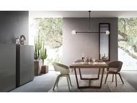 ALF: Cartesio: стол обеденный  раскладной (fashion wood)