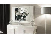ALF: Canova: зеркало навесное  (bianco lucido)