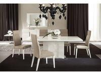 ALF: Canova: стол обеденный  (bianco lucido)