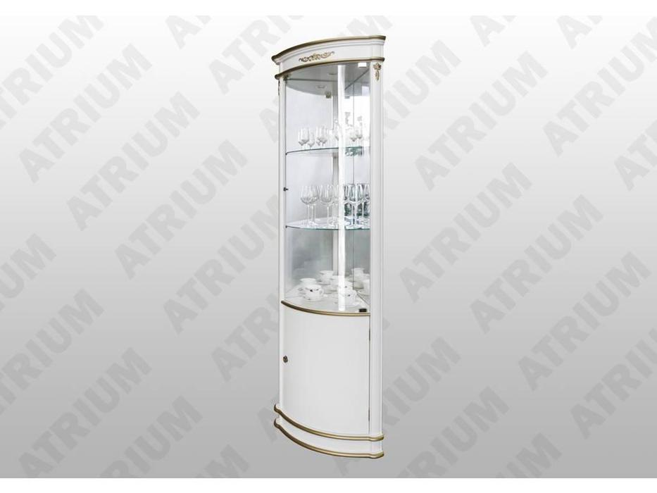 Atrium: Атриум: витрина угловая  (слоновая кость, золото)