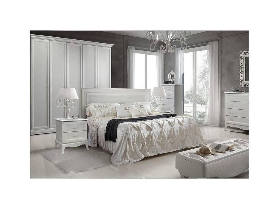 ЯМ: Амели: кровать 160х200  (выбеленный дуб)