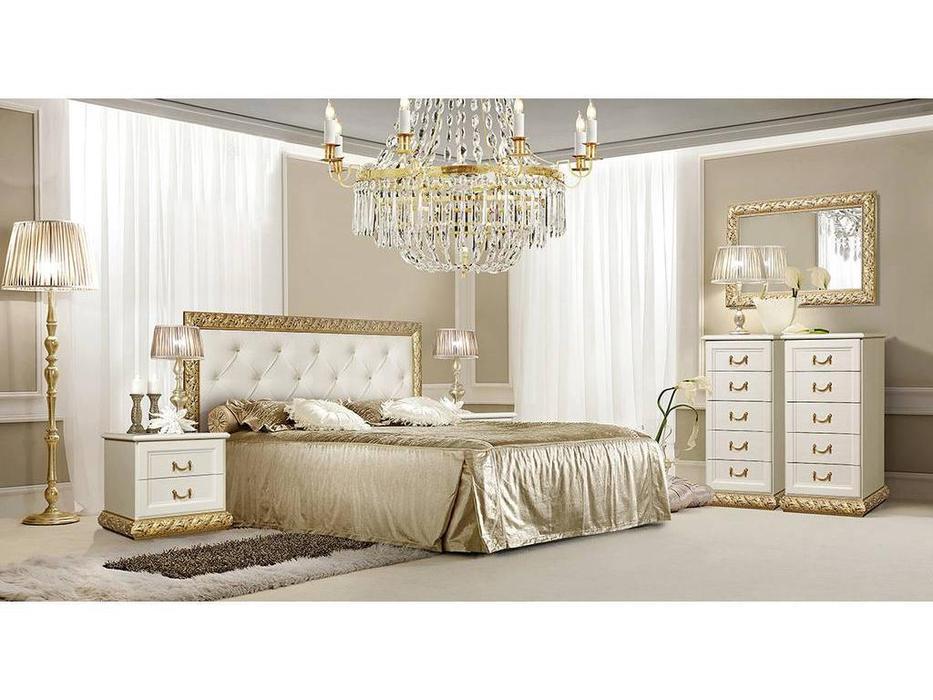 ЯМ: Тиффани: спальная комната (крем, золото)