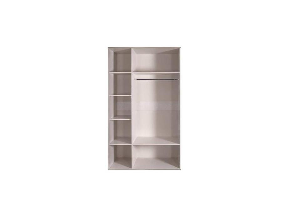 ЯМ: Римини: шкаф 3-х дверный  (слоновая кость, серебро)