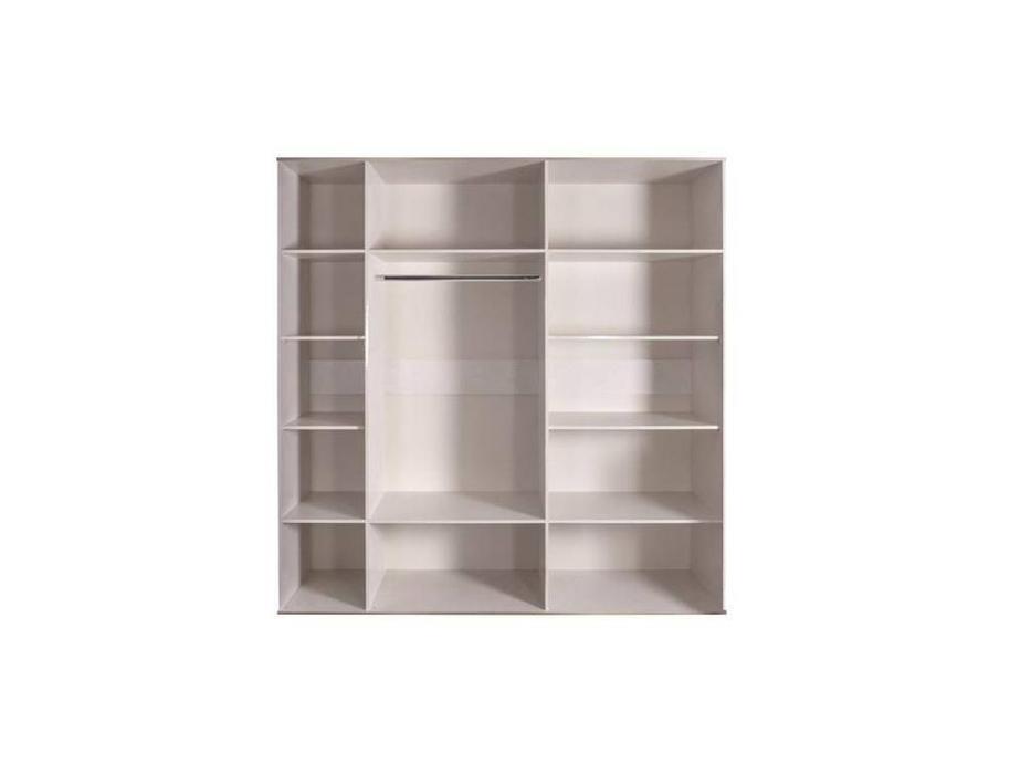 ЯМ: Римини: шкаф 5-ти дверный  (слоновая кость, серебро)