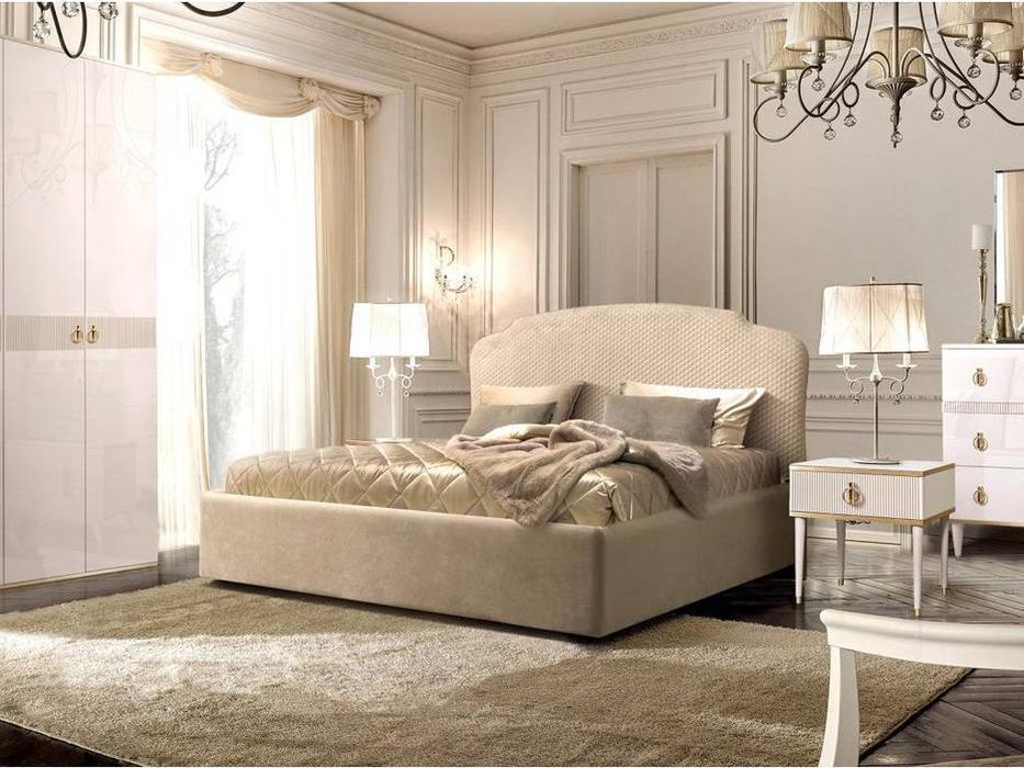 ЯМ: Римини: кровать 160х200 с подъемным механизмом (бежевый)