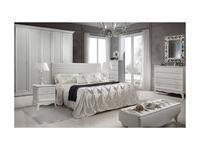 ЯМ: Амели: кровать 180х200  (выбеленный дуб)